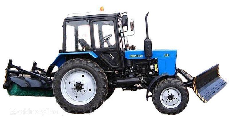 MTZ BAM-2 (otval+shchetka)na traktorah MTZ andere gemeentelijke machines