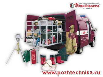 GAZ ABR-3 Avtomobil bystrogo reagirovaniya  brandweerwagen