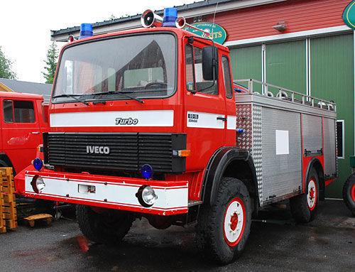 IVECO 4x4 WD brandweerwagen
