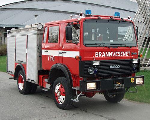 IVECO 80-16 4x4 WD brandweerwagen