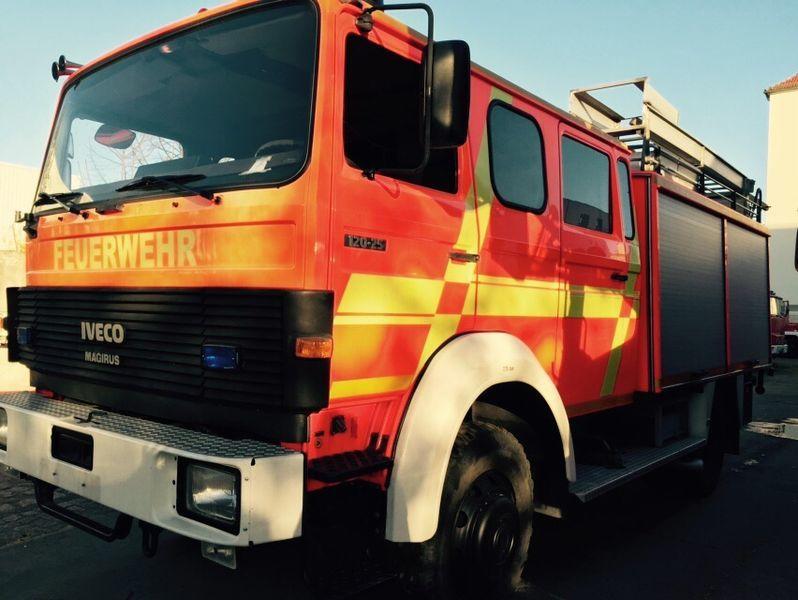 IVECO HLF Typ 120-25 4x4 brandweerwagen