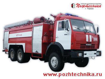 KAMAZ APT-9-40 Avtomobil pennogo tusheniya pozharnyy     brandweerwagen