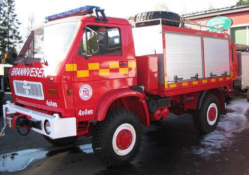 MAN 8.150, 4x4 WD brandweerwagen
