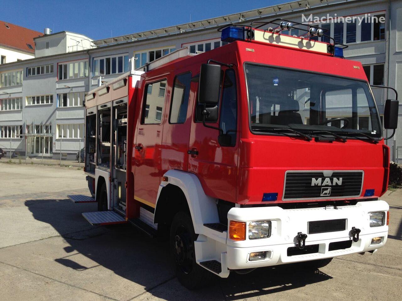 MAN HLF mit 4x4 brandweerwagen