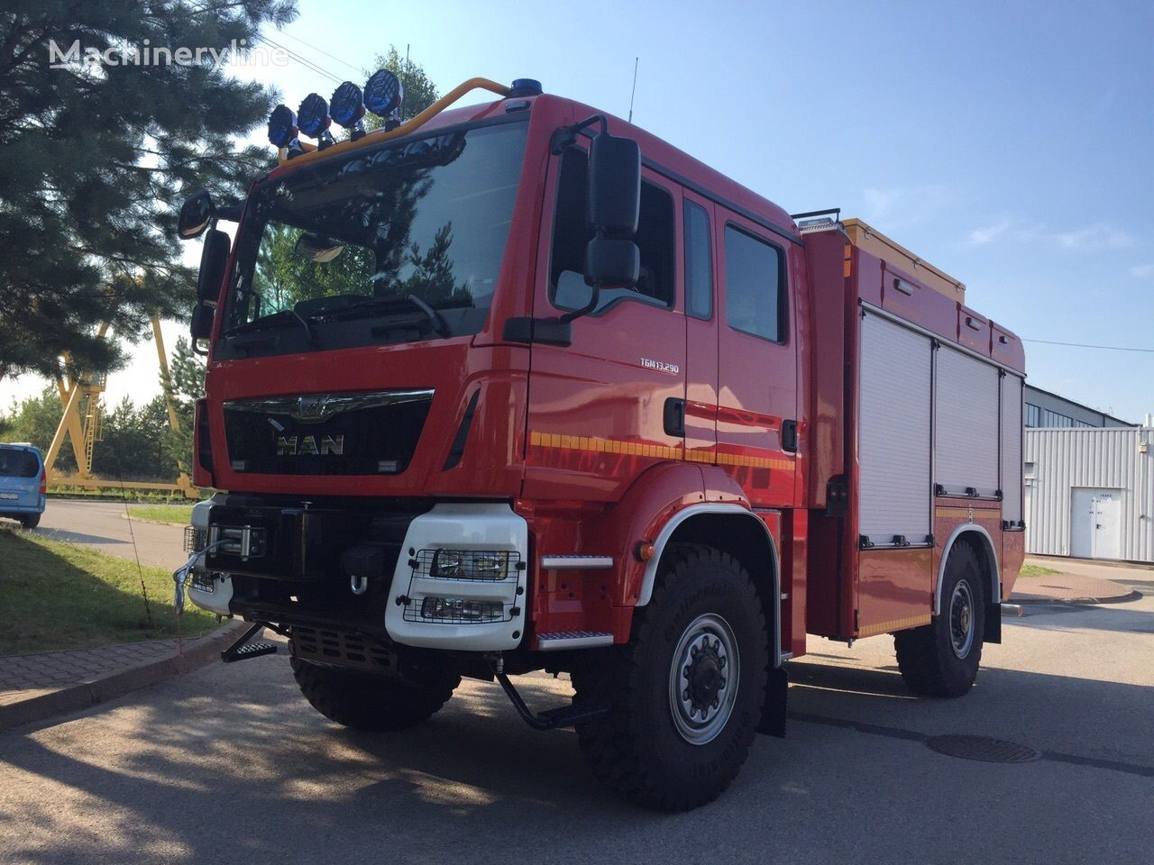 nieuw MAN TGM 13.290 Einzelbereifung 4x4 brandweerwagen
