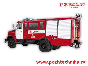 ZIL  AG-20 Avtomobil gazodymozashchitnoy sluzhby brandweerwagen