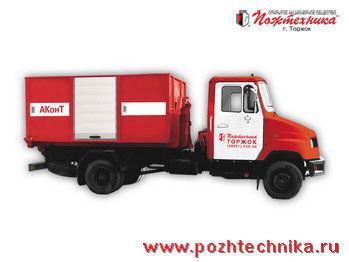 ZIL AKonT Avtomobil konteynernogo tipa    brandweerwagen