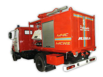 ZIL PSK Pozharno-spasatelnyy kompleks s konteynerami tyazhelogo tipa brandweerwagen