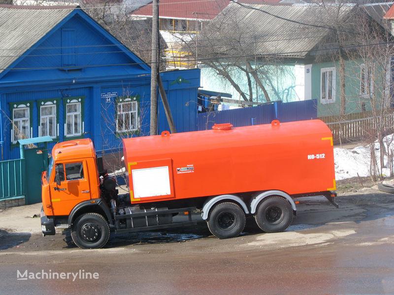 KAMAZ Kanalopromyvochnaya mashina KO-512 hogedrukspoelwagen