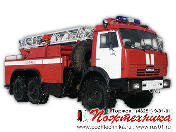 KAMAZ ACL-3-40/17    ladderwagen