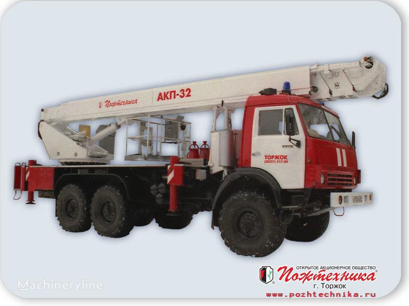 KAMAZ AKP-32 ladderwagen