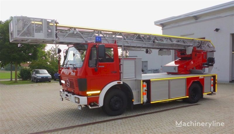 MERCEDES-BENZ F20126-Metz DLK 23-12 - Fire truck - Turntable ladder  ladderwagen