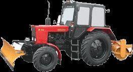 MTZ 82 MK (otval+shchetka) sneeuwfrees