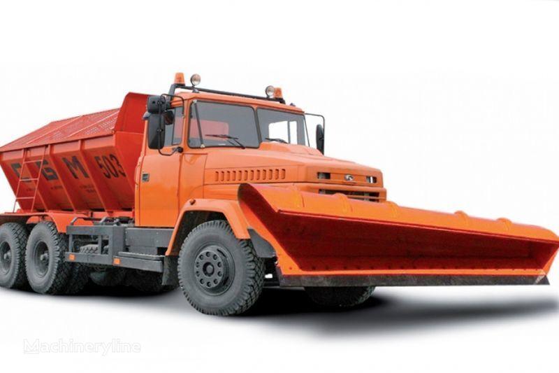 KRAZ 65055 MDKZ-30 strooiwagen