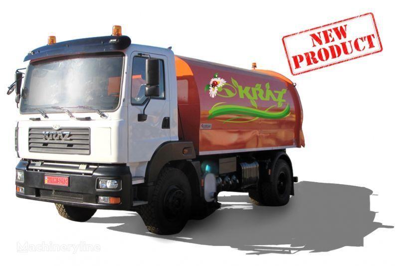KRAZ 5401K2-020 Vakuumnyy podmetalno-uborochnyy avtomobil  veegmachine