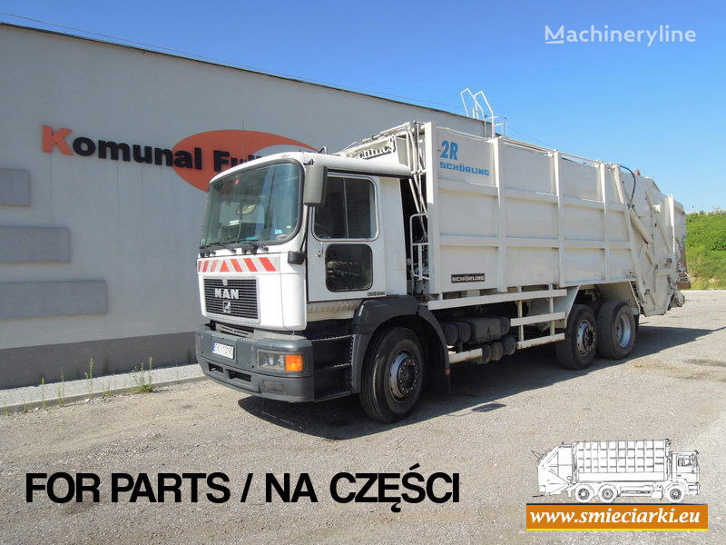 MAN 26-293 vuilniswagen