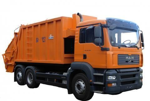 MAN KO-427-46  vuilniswagen