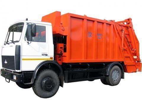 MAZ KO-427-34  vuilniswagen