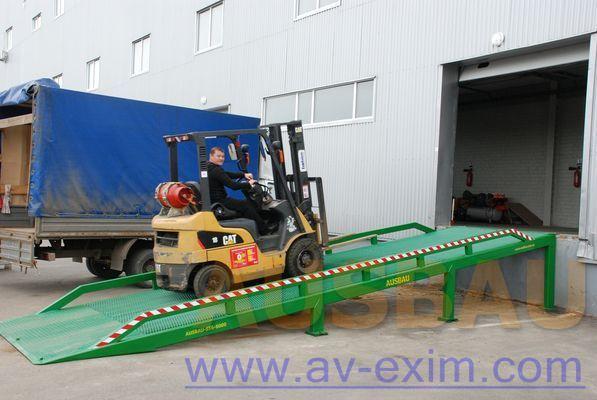 nieuw AUSBAU AUSBAU-ST Fixed ramp , Stacionarnaya rampa , Dock ramp , laadbrug mobiele laadbrug