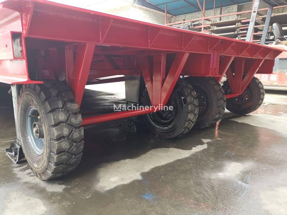 nieuw AZ-MACHINERY KING VERSION, BIG FOOT - L25T mobiele laadbrug