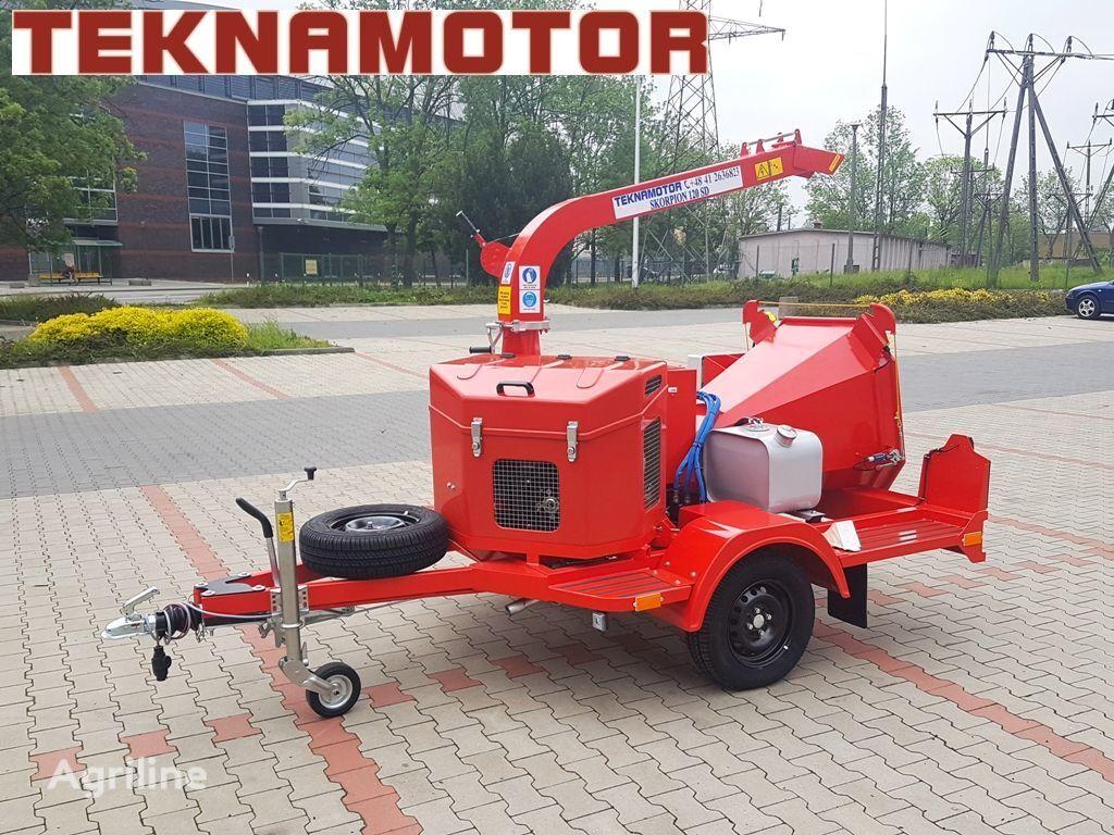 nieuw TEKNAMOTOR Skorpion 120 SD houtversnipperaar