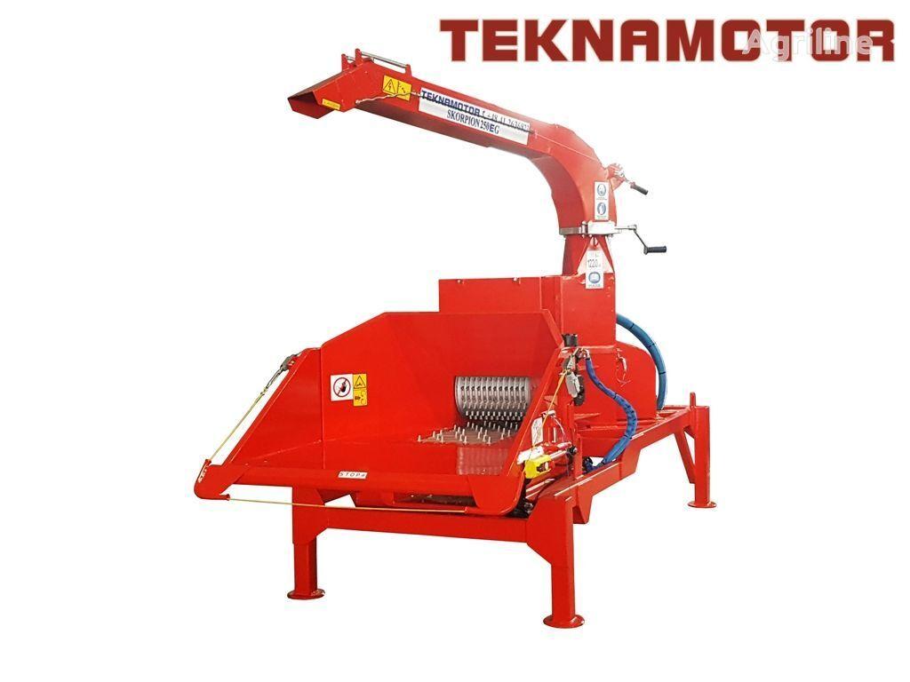 nieuw TEKNAMOTOR Skorpion 250 EG houtversnipperaar