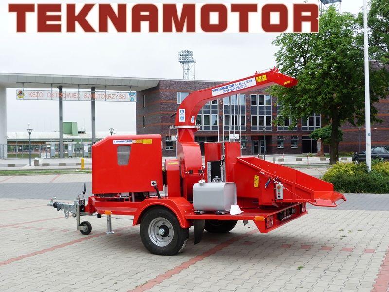 nieuw TEKNAMOTOR Skorpion 250 SDTG houtversnipperaar