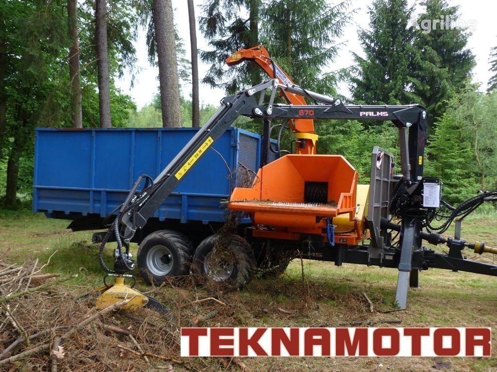 nieuw TEKNAMOTOR Skorpion 350 RBP houtversnipperaar