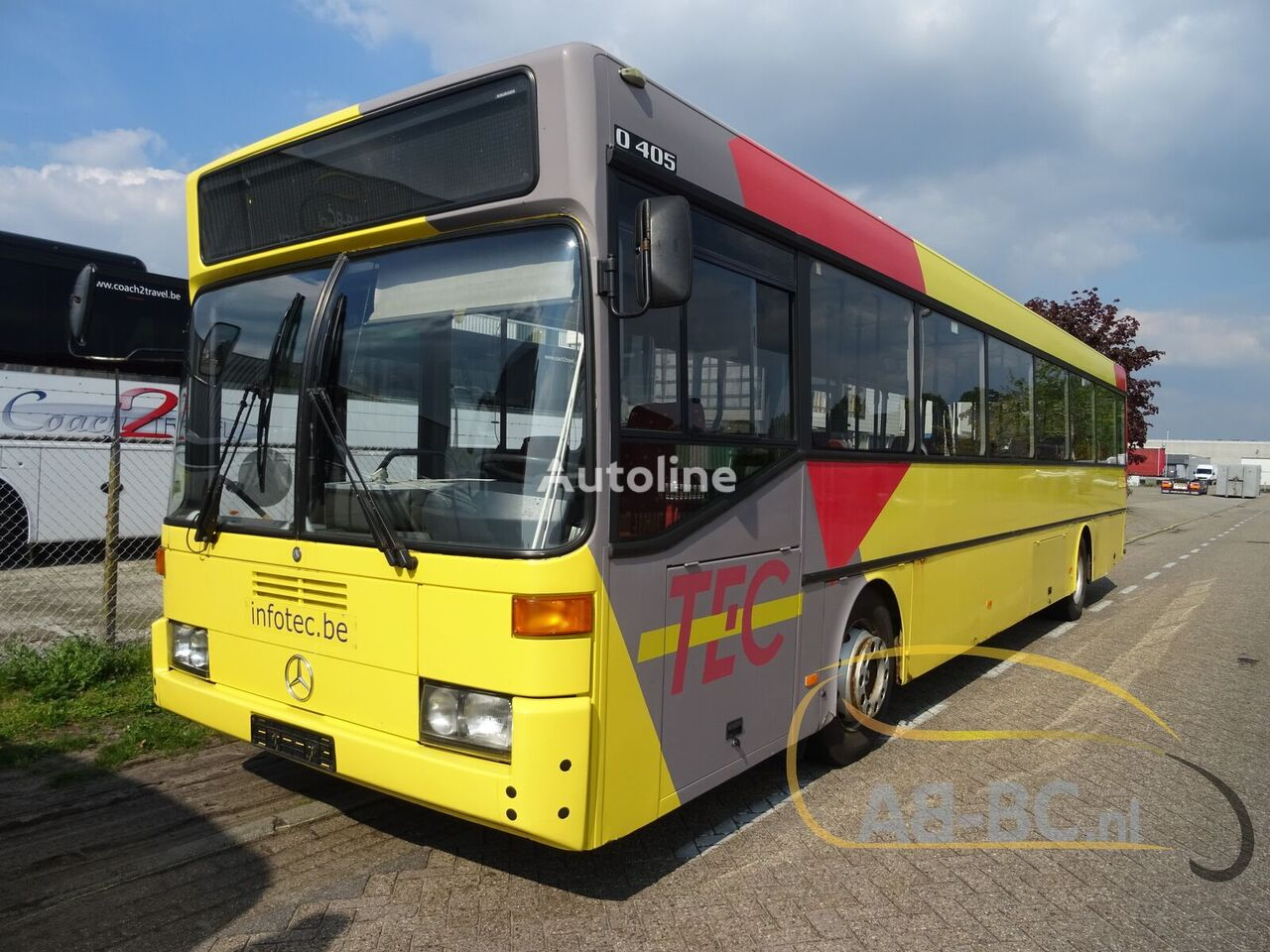 MERCEDES-BENZ O405 47 Seats 44 Standees intercity bus