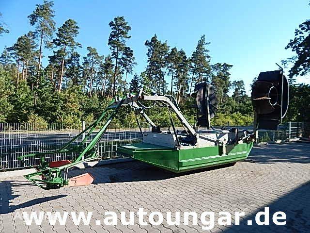 JOHN DEERE Mähboot Aquatic Berkey Gödde Mulag Weed Harvester andere landbouwmachines