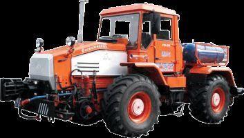 MMT-2  Manevrovyy motovoz na baze traktora HTA-200  banden trekker