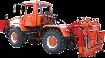 Universalnaya putevaya mashina UPM-1M na baze traktora HTA-200  banden trekker