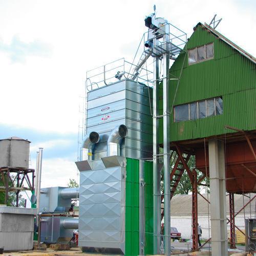 Stacionarnye zernosushilki MEPU serii RCW drooginstallatie