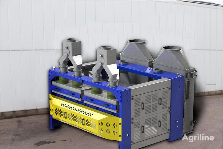 nieuw Screen / Sieve grain cleaner BISS 80 t/h with suction chamber graanreiniger