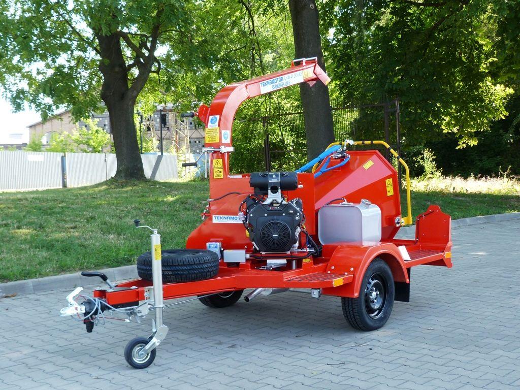 nieuw TEKNAMOTOR Skorpion 120 S houtversnipperaar