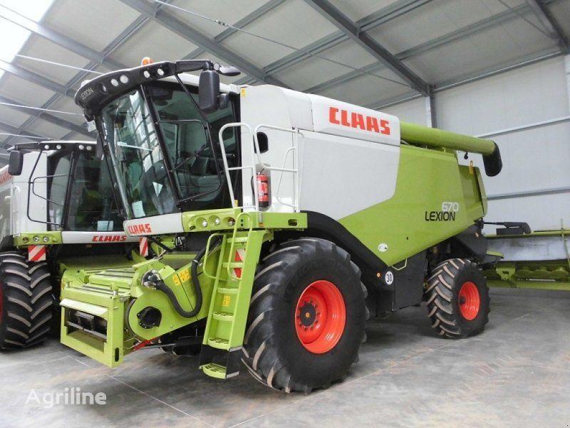 nieuw CLAAS Lexion 670 maaidorser
