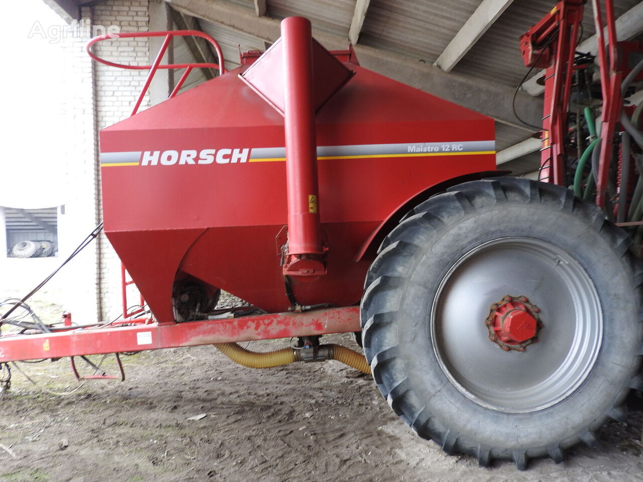 HORSCH Maistro 12 RC mechanische precisiezaaimachine