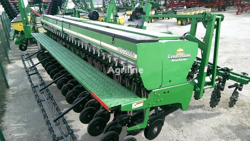 GREAT PLAINS John Deere SUHIE UDOBRENIYa mechanische zaaimachine