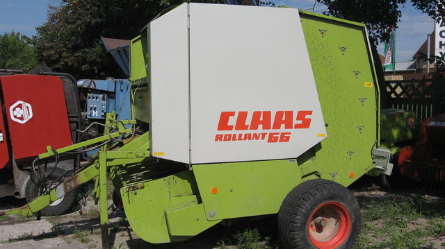 CLAAS ROLLANT 66,62.44.46 ronde balenpers