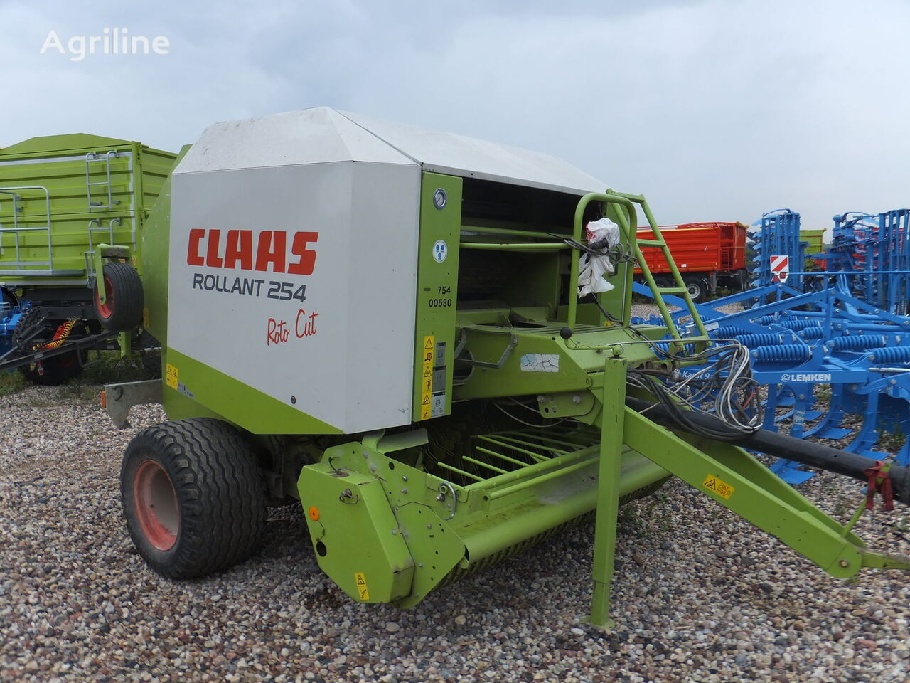 CLAAS Rollant 254 ronde balenpers