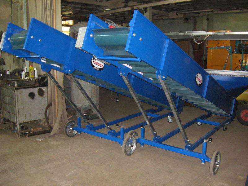 nieuw transporter (konveyer) - 4m  stortbunker