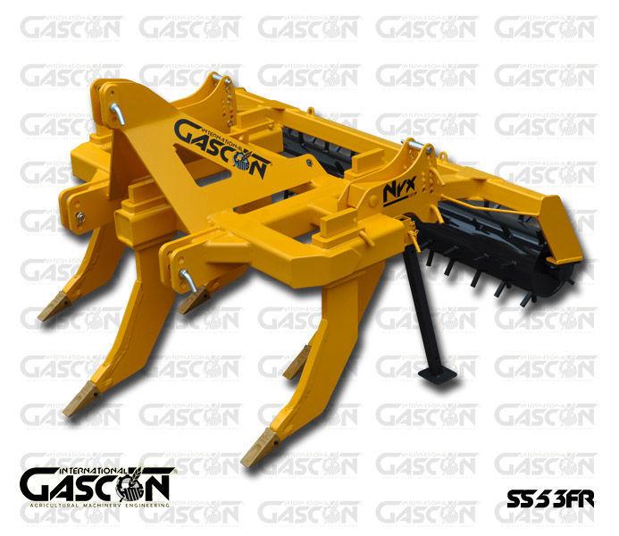 nieuw GASCON  Glubokoryhlitel Gascon SS-5-3FR (150-210 l.s.) voorzetwoeler