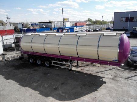 FELDBINDER (ID-4095) polupricep cisterna pishchevaya levensmiddelentransport