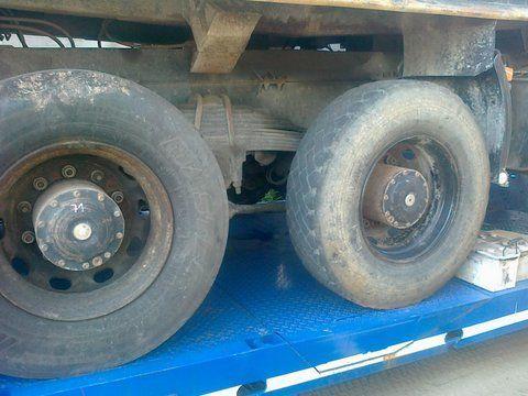 Niemcy 6x4 8x4 aandrijfas voor MAN 26-403 vrachtwagen