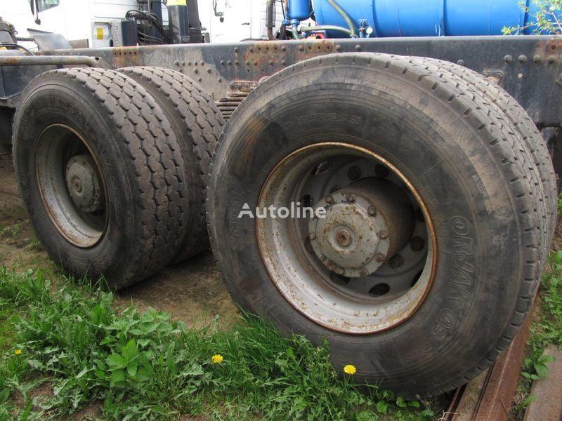 TYLNE MOSTY TANDEM, 2 X REAR DIFFERENTIAL MAN 8X4 8X8 aandrijfas voor MAN 35-414 F2000 8X4 truck