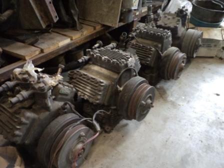 airconditioner compressor voor bus