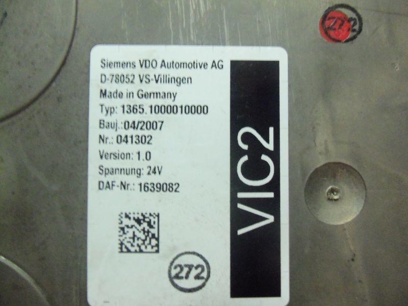 DAF VIC2 electronic control unit 1639082 besturingseenheid voor DAF 105XF trekker