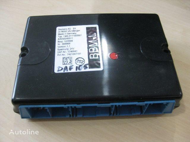 DAF 1365.0111000001 besturingseenheid voor DAF vrachtwagen