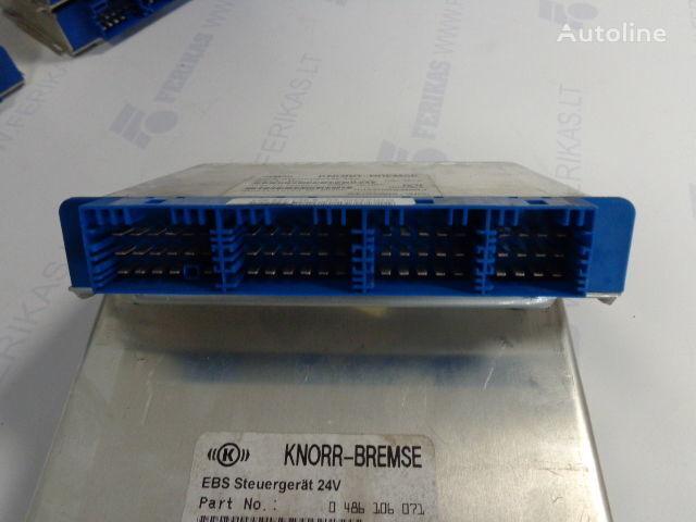 KNOR-BREMSE EBS Steuergerat 24V 0486106027,0486106052,0486106041,0486106071, 81258087057 besturingseenheid voor MAN trekker