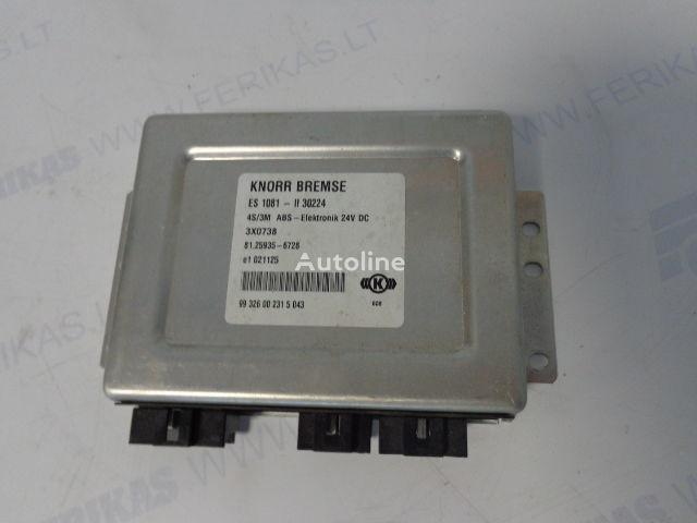 KNORR BREMSE 4S/3M ABS-Elektronik besturingseenheid voor MAN trekker